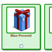 FarmVille giftable holiday presents -- collect them all