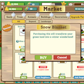 Creating snowy pastures in FarmVille