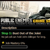 Mafia Wars Public Enemies event adds featured job