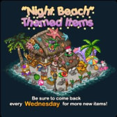 SPP Ranch Night Beach Theme and Treasure Box get the party started