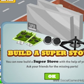 How to Build Your Super Stove in Cafe World?
