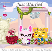 Pet Society Wedding: Tutti & Mustard