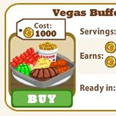 Vegas Buffet, the Latest Cafe World Recipe