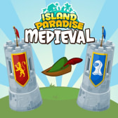 Island Paradise goes all medieval on us with new red vs. blue set