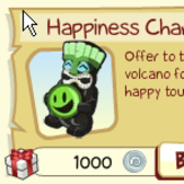 Tiki Resort rewards fans with a free Happiness Charm