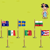 Let your flag fly high in Tiki Farm with new country flags