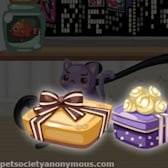Pet Society Chocolate Boxes Glow in the Dark