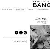 Marc Jacobs wants to Bang you in new Facebook adver-game