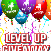 Zynga's Level Up Giveaway promises prize packs