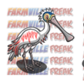 FarmVille Unreleased Roseate Spoon Bill, Pied Pig, & Vulturine Guinea Fowl