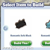 YoVille: Two new Romantic Widget Collectibles available in the factory