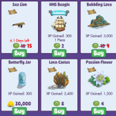 FishVille: Galapagos items have arrived