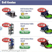 YoVille Evil Genius: Build your own mad scientist's lab with these new items
