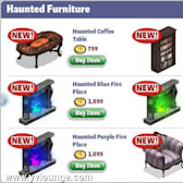 YoVille Halloween 2010 Items arrive