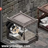 YoVille Halloween: Build a Haunted Bed in the Widget Factory