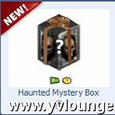 YoVille Haunted Mystery Box awards free Halloween gifts