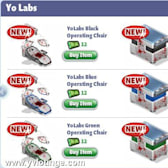 YoVille Undead Terror: Yo Labs items arrive