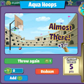 FishVille's Aqua Hoops Game dropped the ball