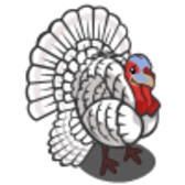 FarmVille: Fill up your Feed Trough for a free White Turkey