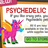 Happy Pets Psychedelic Pets are so bright you'll have to wear shades