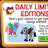 Happy Pets' Daily Limited Editions give everyone a chance at rare critters