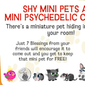Happy Pets: Shy Mini-Pets require coaxing from friends