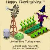 It's Turkey Time in Tiki Resort: New mystery prizes