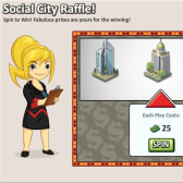Social City: Spin to win big in the Skyscraper 2 Raffle