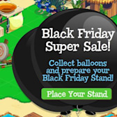 Treasure Isle Black Friday Super Sale: Collect balloons for nifty in-game items