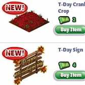 YoVille Thanksgiving furniture and decorations now available