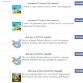 Facebook redesigns application and game Gift Requests (again)