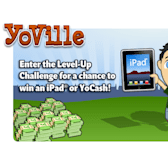 YoVille Level-Up Challenge: Move on up to win an iPad or YoCash