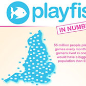 Playfish infographic shows off its numbers and has some fun