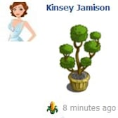 FarmVille Valentine's Countdown Day 9: Fancy Topiary