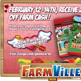 FarmVille Weekend Sale gives 20% off Farm Cash