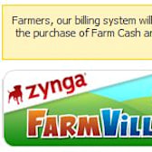 FarmVille billing system down for maintenance