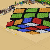 Picture of the Day: FarmVille Rubik's Cube