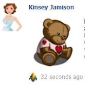 FarmVille Valentines Collection Day 5: Heart Teddy