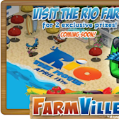 FarmVille Rio farm promises two exclusive prizes