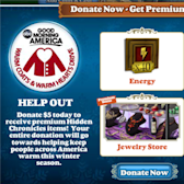 Hidden Chronicles: Zynga joins Good Morning America in national coat drive