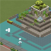 The Sims Social Pic of the Day: Sky Castle 'Laputa' by lingling000