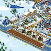 FarmVille Pic of the Day: Tuhoegurlz's winter extravaganza
