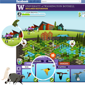 Save American wetlands with this student-made Facebook game