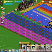 FarmVille Pic of the Day: It's Nyan Cat vs Tac Nayn on Glosoli's farms