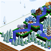 FarmVille Pic of the Day: The Farm Must Flow (and Float) by mykos