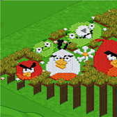 FarmVille Pic of the Day: Angry Birds come to roost at Onisuka057's farm