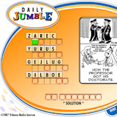 Game of the Day: Daily Jumble