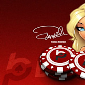 Pamela Anderson has a Facebook game? Sure does, and this is what it looks like