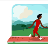 Google honors 2012 Olympics with hurdle