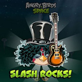 Slash shreds out a new take on Angry Birds Space theme